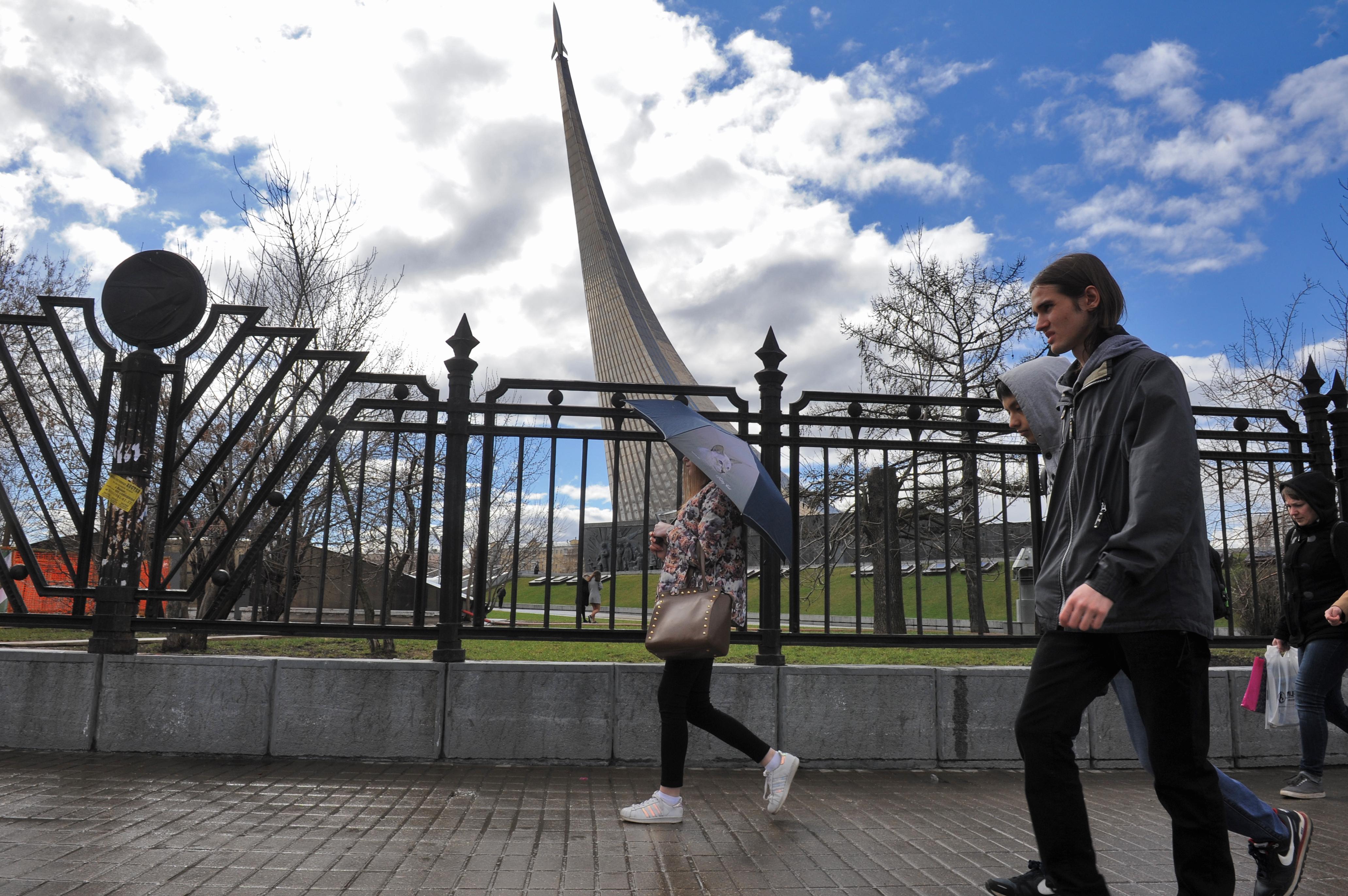Знаменитый «монумент с ракетой» отреставрируют на ВДНХ