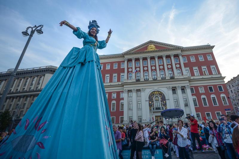 Пять миллионов человек отпраздновали День города в Москве