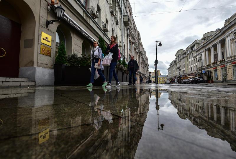 Дождь и облачность ожидают в Москве