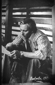 Фото Янковского, сделанное во время съемок. Фото из архива Алексея Захаринского