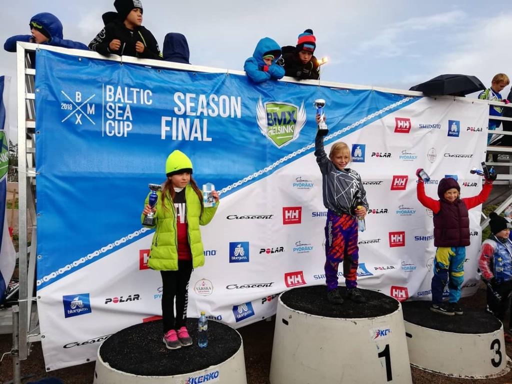 Велосипедистка из Краснопахорского стала призером Кубка Балтики