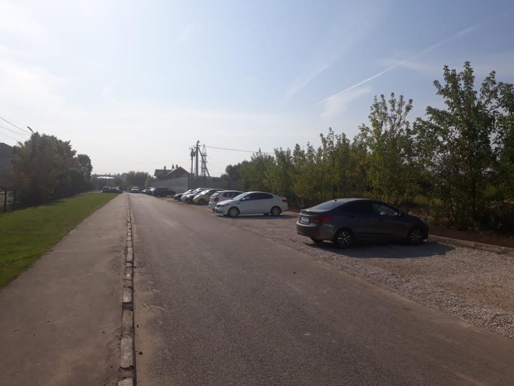 Подготовительные работы по обустройству парковочных мест проведут в Рязановском