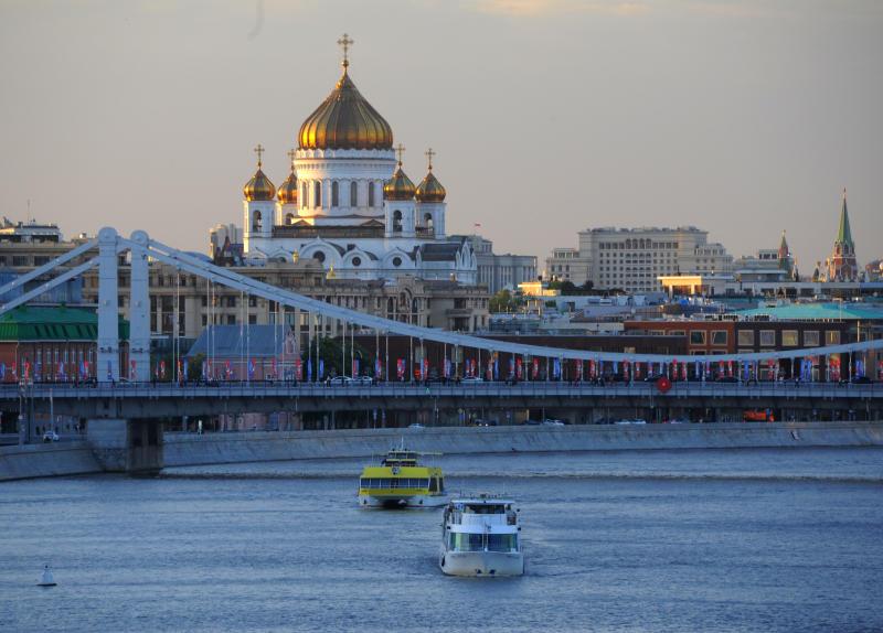 Мощи святого торжественно встретили в столице