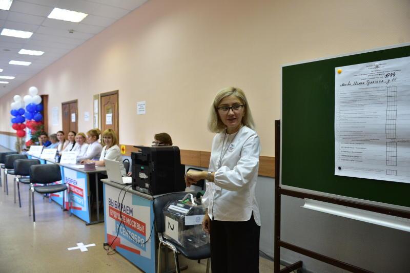 В Москве явка на выборах мэра осталась на уровне 2013 года. Фото: архив