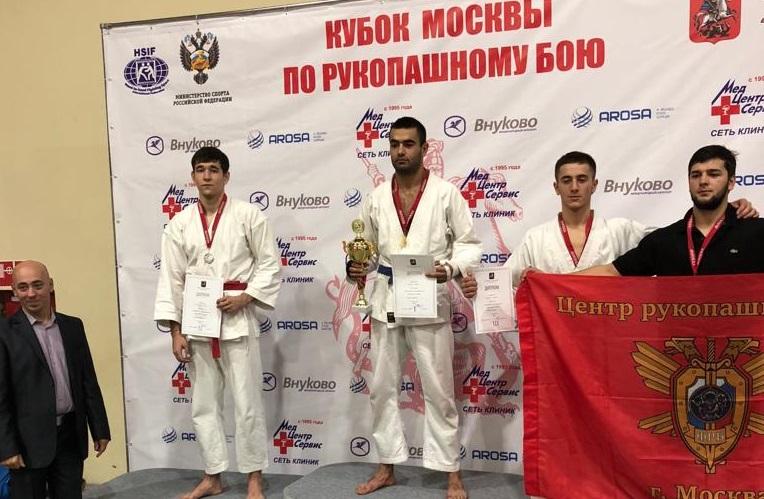 Атлет Первомайского занял призовое место в соревновании по рукопашному бою