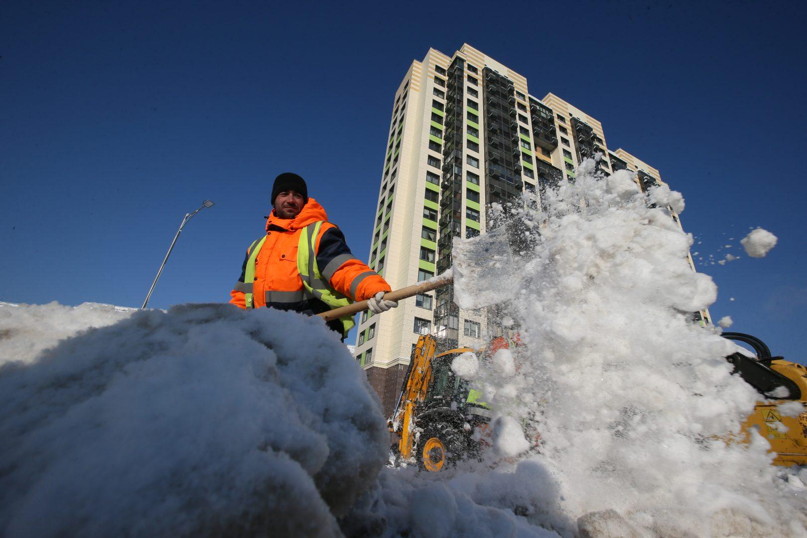 25 января 2018 года. Прошлая зима стала одной из самых снежных, но город справился! Фото: Виктор Хабаров.
