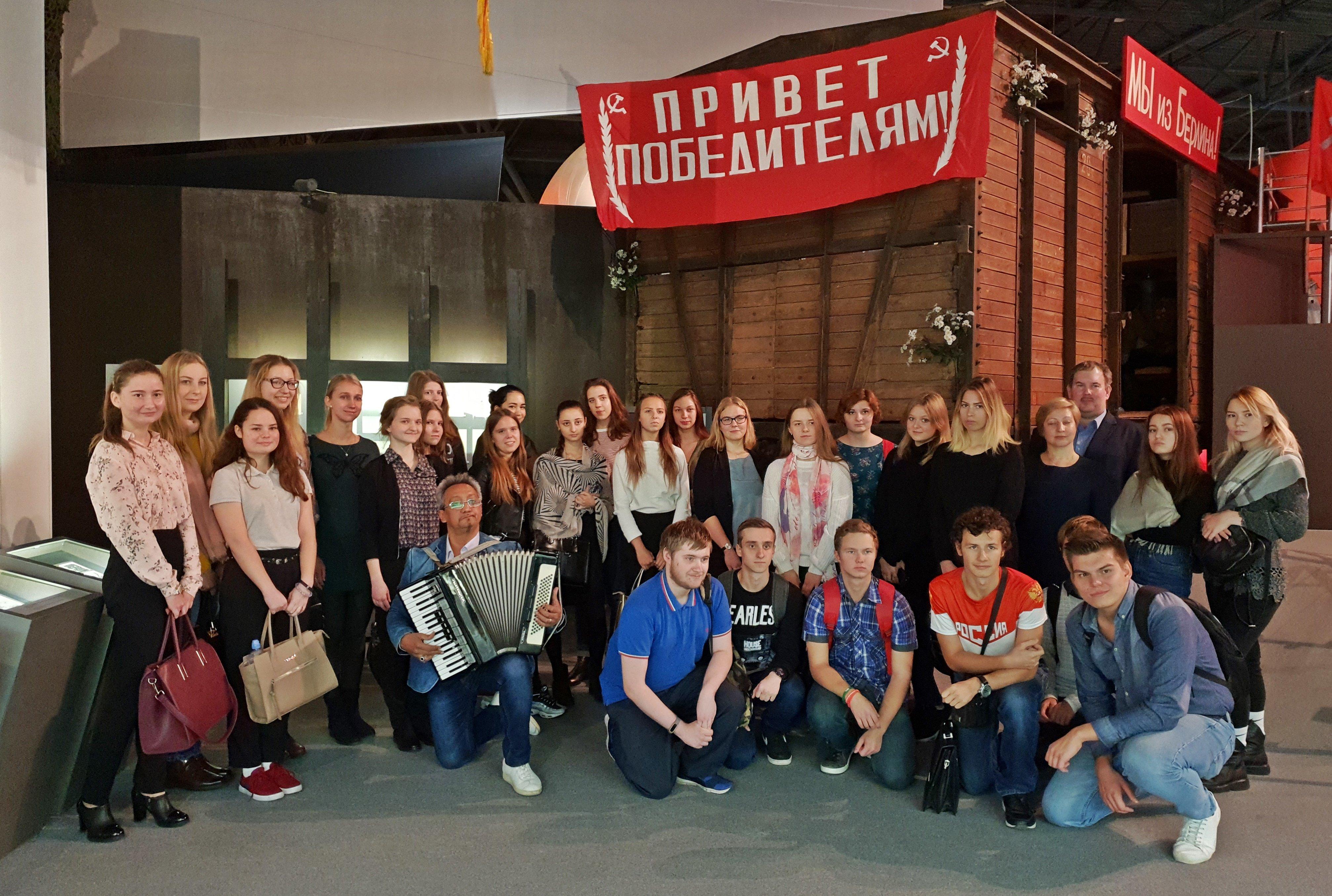 Юные москвичи познакомились с историей гражданской обороны