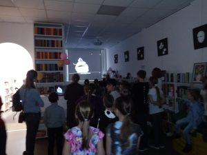 На празднике сотрудники библиотеки подготовили несколько тематических стендов. Фото: библиотека №263