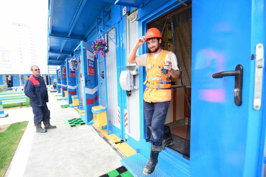 Обустройство бытового городка проведут в Кокошкино