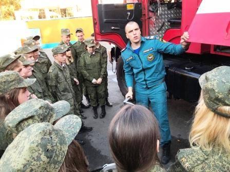 В Новой Москве продолжается месячник гражданской обороны