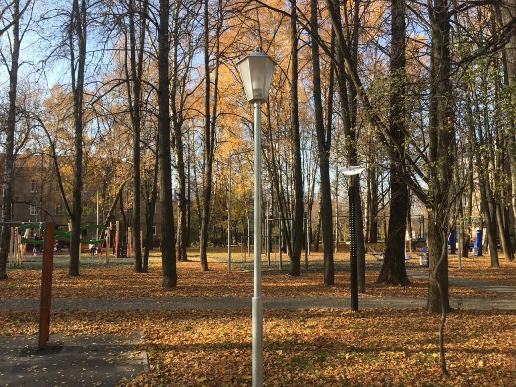 Уличные фонари установили в Десеновском