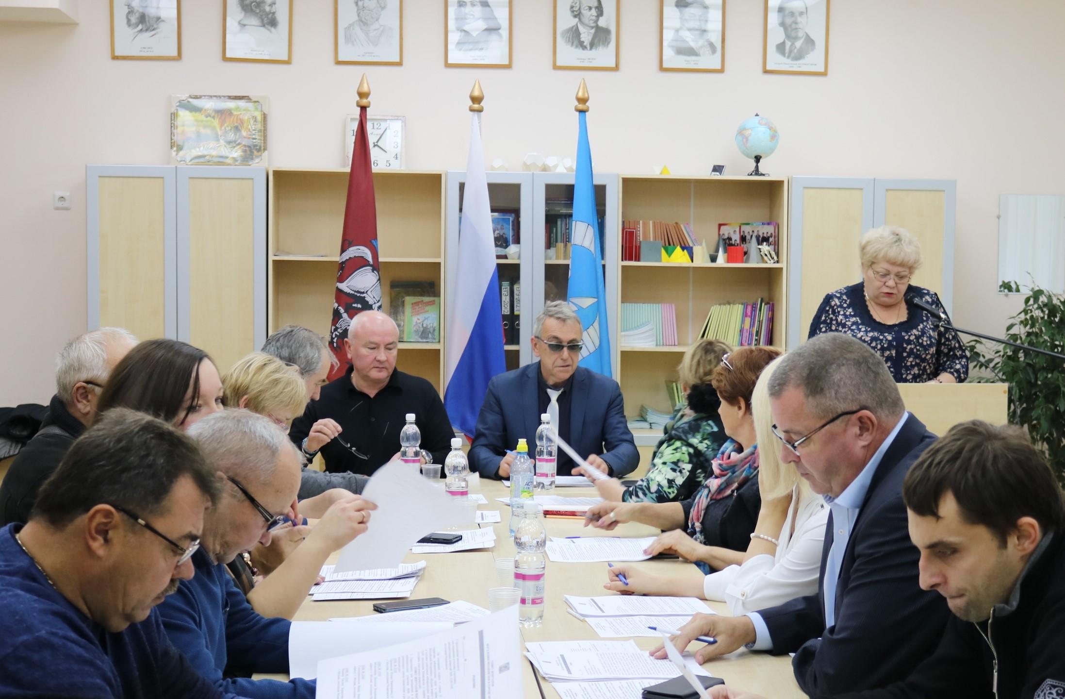 Депутаты Рязановского обсудили бюджет поселения на 2019 год
