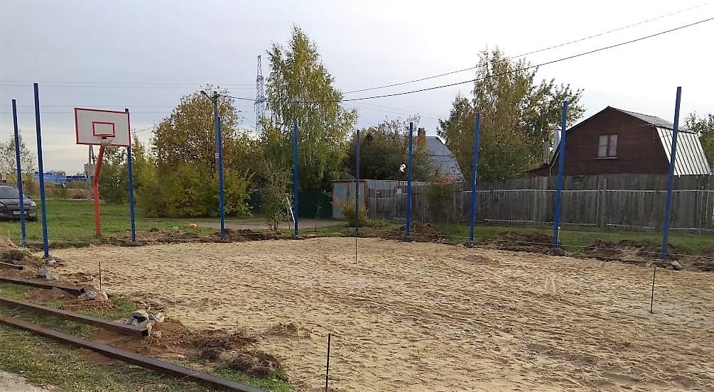 Площадки для отдыха и спорта оборудуют в Старосырово. Фото: администрация поселения Рязановское
