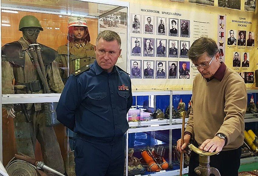 Экспозиция пожарно-спасательной службы Москвы – частичка исторического наследия столицы