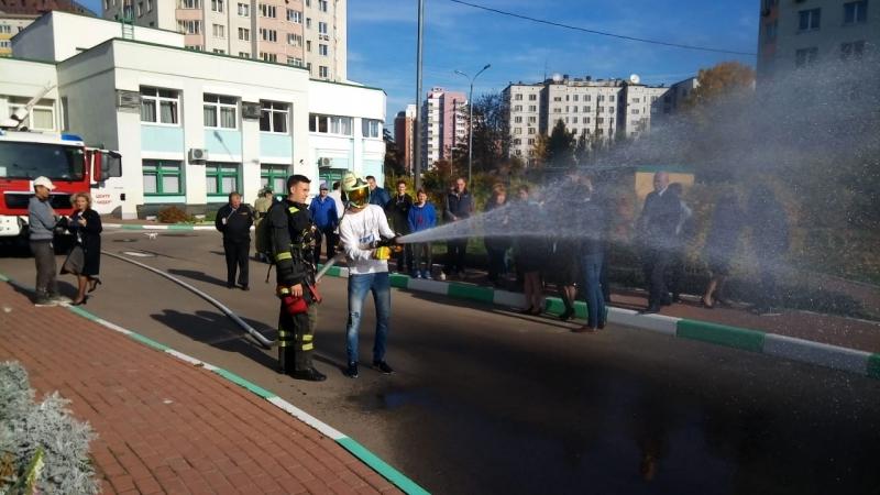 Специалисты Центра «Лидер» поучаствовали в занятии по противопожарной подготовке