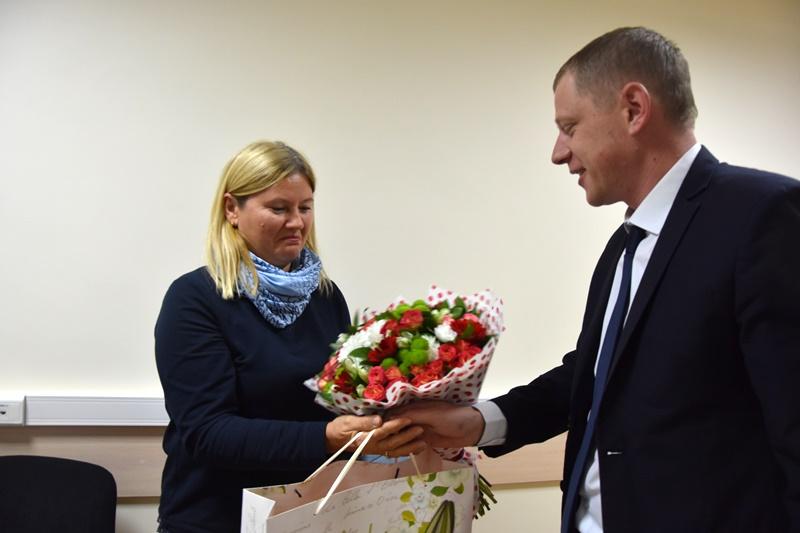 Начальник УВД по ТиНАО встретился со вдовами погибших сотрудников ОВД