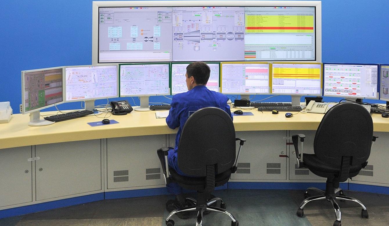Бирюков рассказал о работе тепловой электростанции