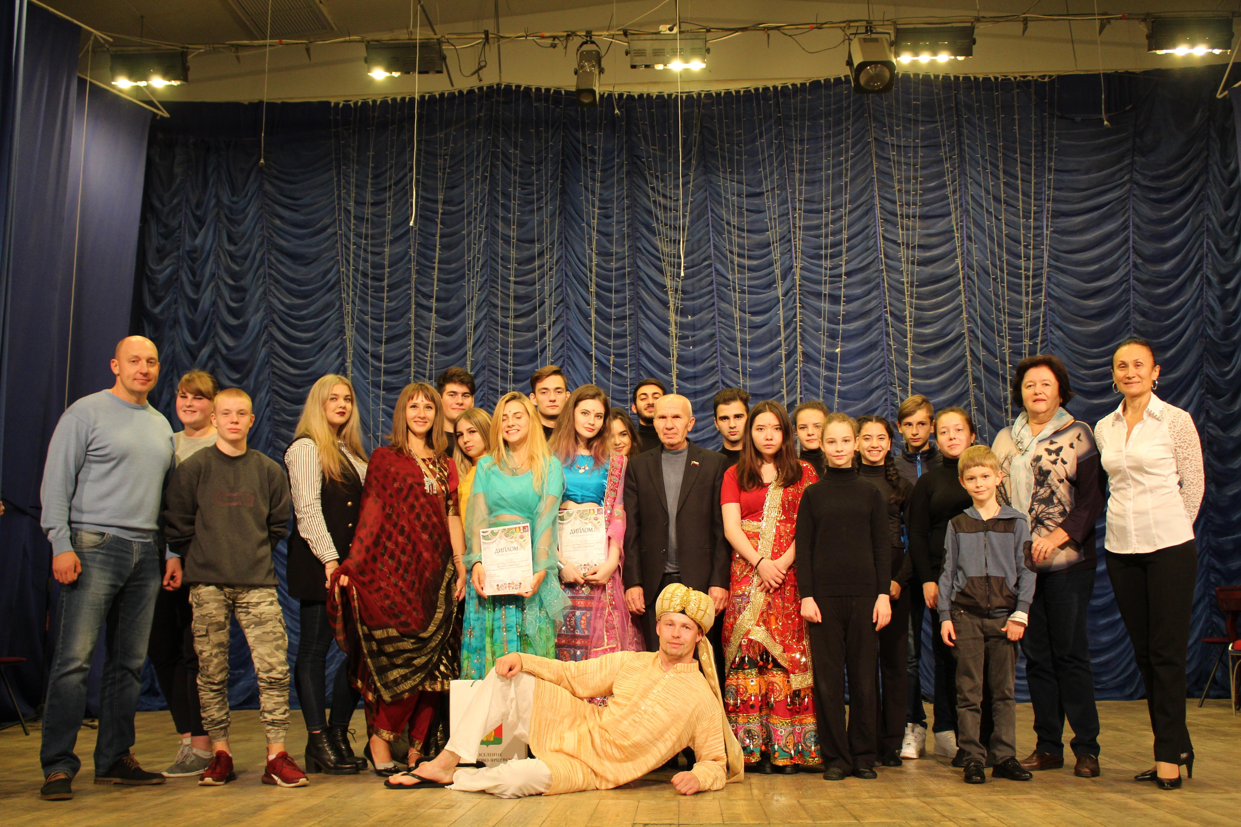 Ежегодный фестиваль «Дружба народов» провели в Михайлово-Ярцевском