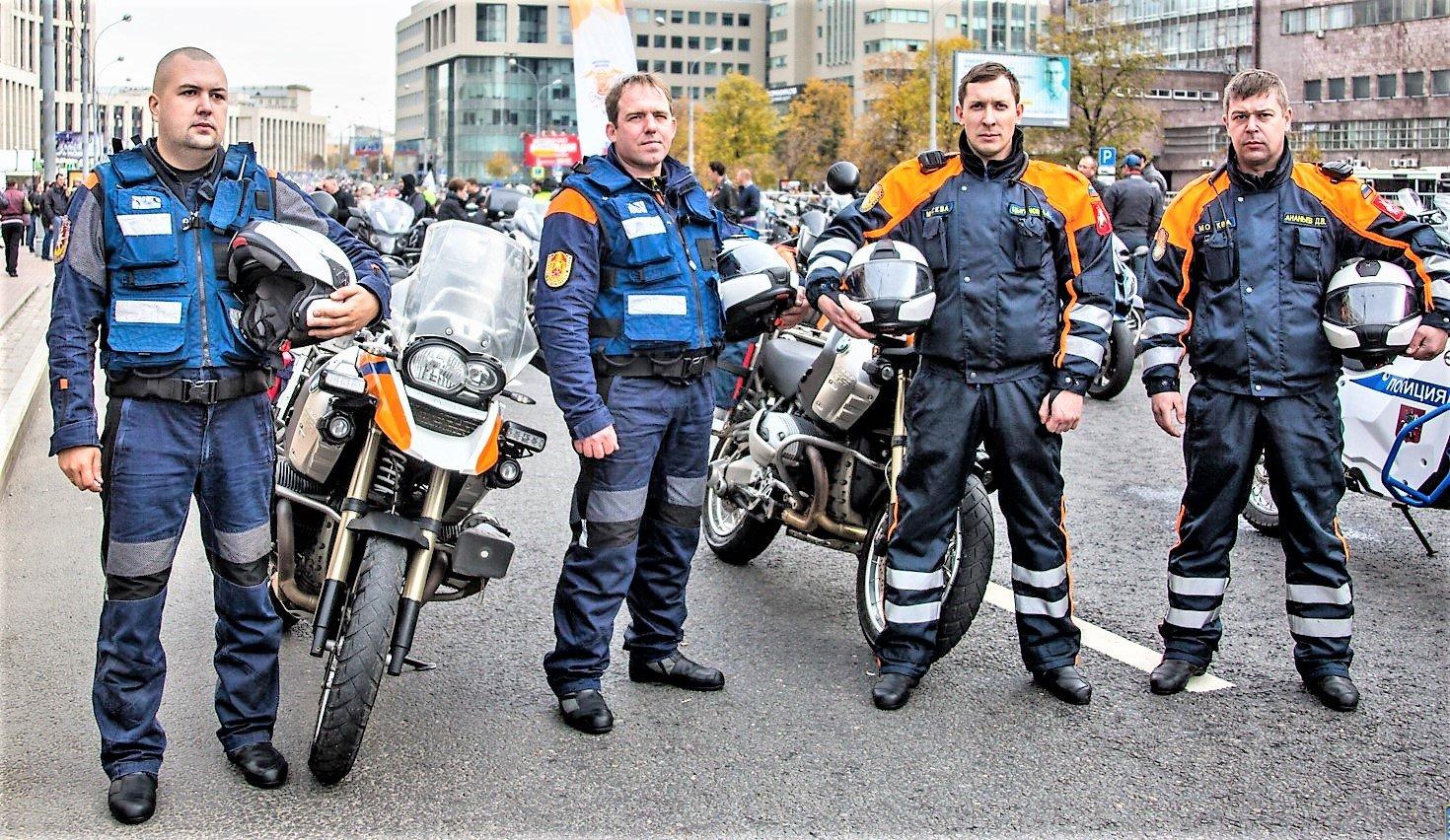 Мотоспасатели столицы: всегда готовы прийти на помощь
