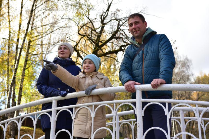 Первый день ноября принесет в Москву потепление до восьми градусов