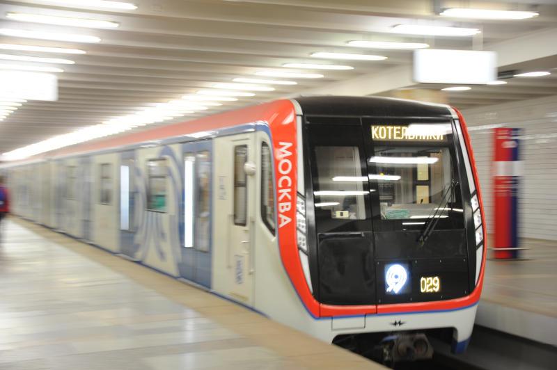 Метро Москвы запустит еще 23 поезда нового поколения