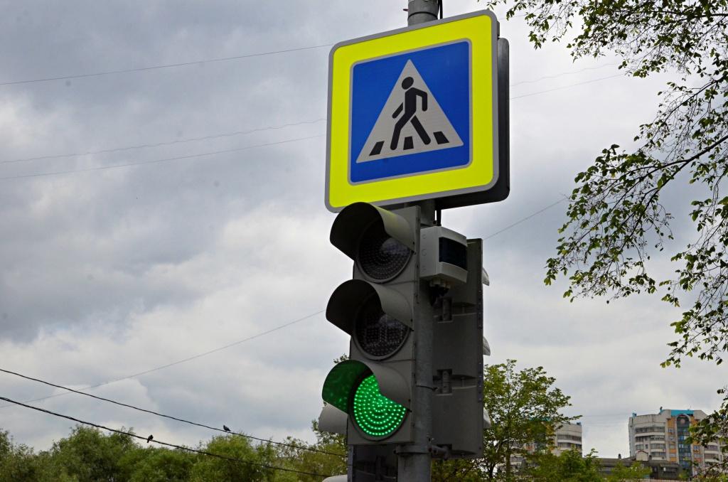 Работу светофоров проверят в поселении Кокошкино
