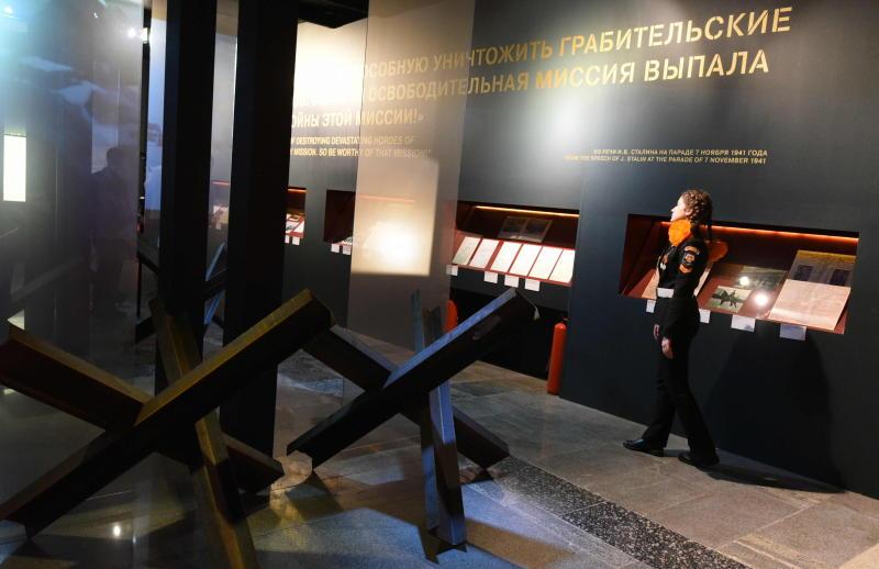 Почти 4 тысячи школьников посетили Музей Победы за неделю осенних каникул. Фото: архив