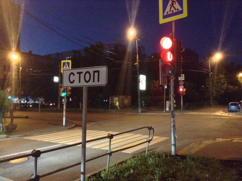 Пешеходные ограждения установили на дорогах Десеновского