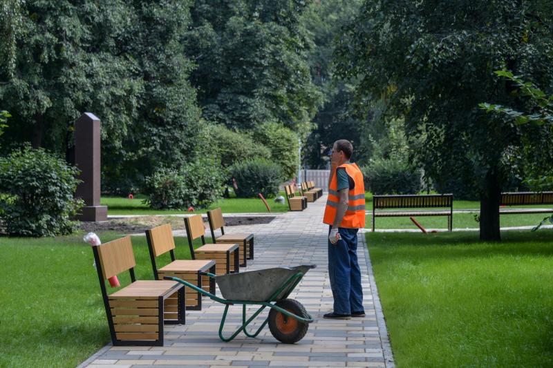 В Москве завершено благоустройство парка имени Святослава Федорова