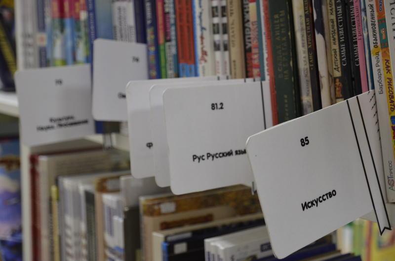 Библиотека. Фото: Анна Быкова