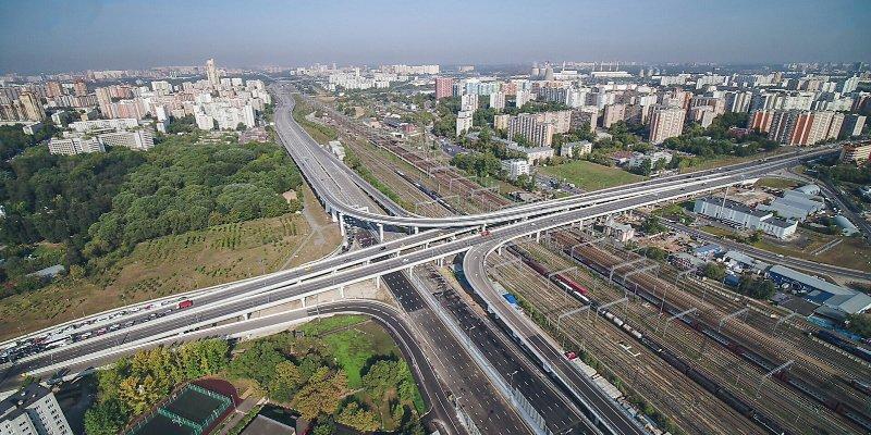 План по строительству дорог в Москве в 2018 был перевыполнен. Фото: официальный сайт мэра Москвы