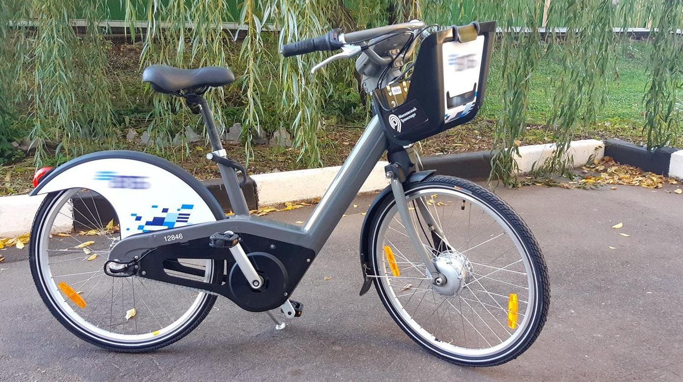 Электровелосипеды улучшенной модели появились в прокате Москвы