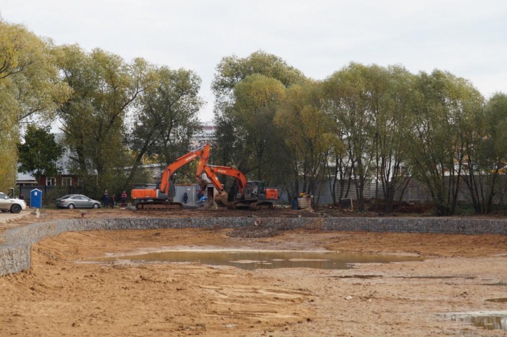 Водный объект благоустроят в в Мосрентгене. Фото: пресс-служба администрации поселения Мосрентген
