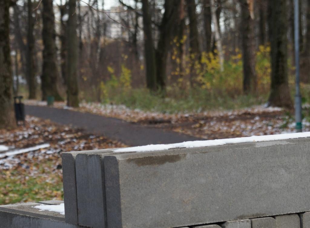 Пешеходную дорожку от Дома культуры «Мосрентген» заасфальтируют. Фото: администрация поселения Мосрентген