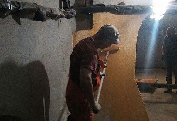 Капитальный ремонт подвала провели в Сосенском