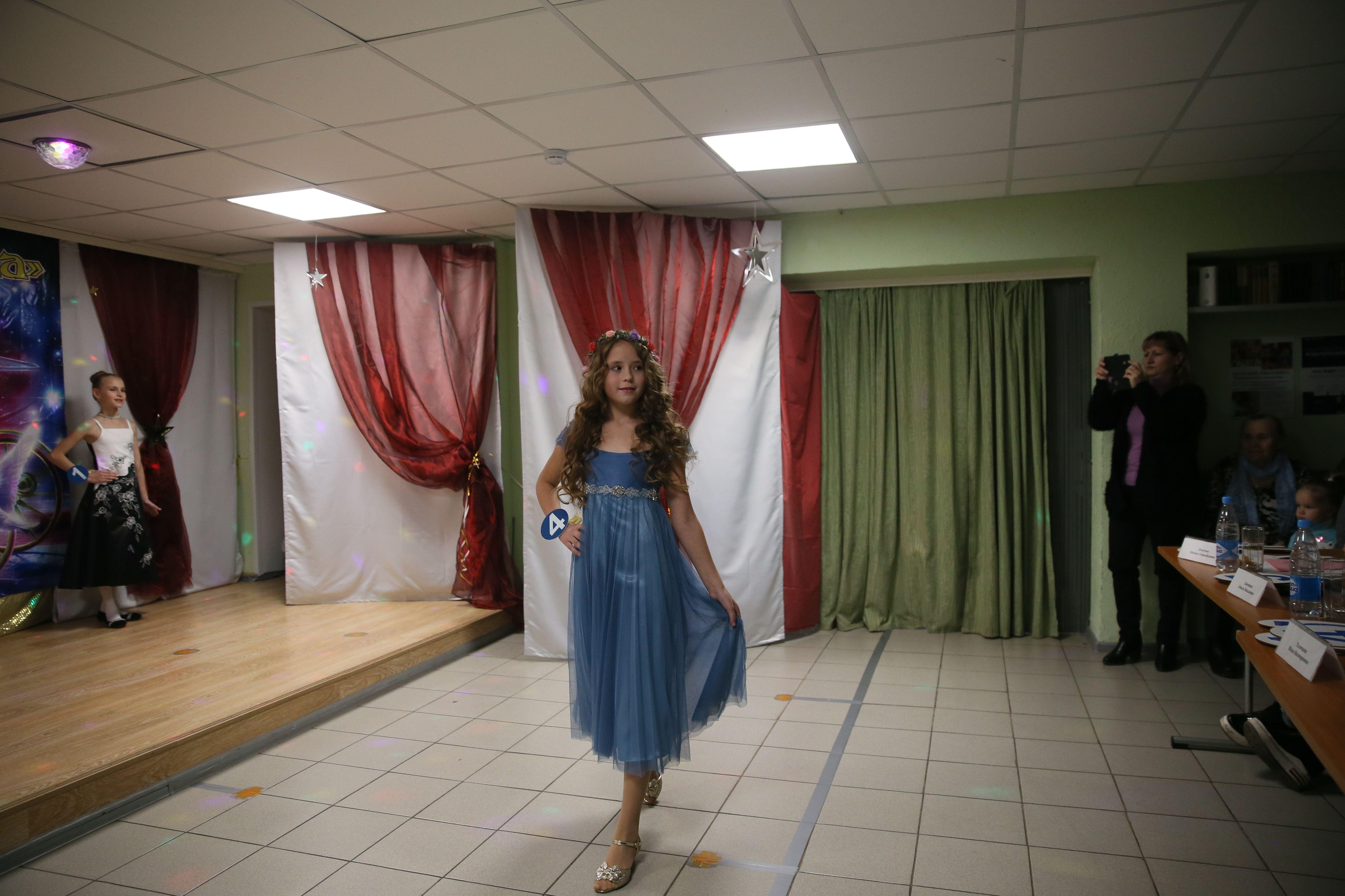 Из детского сада — на подиум
