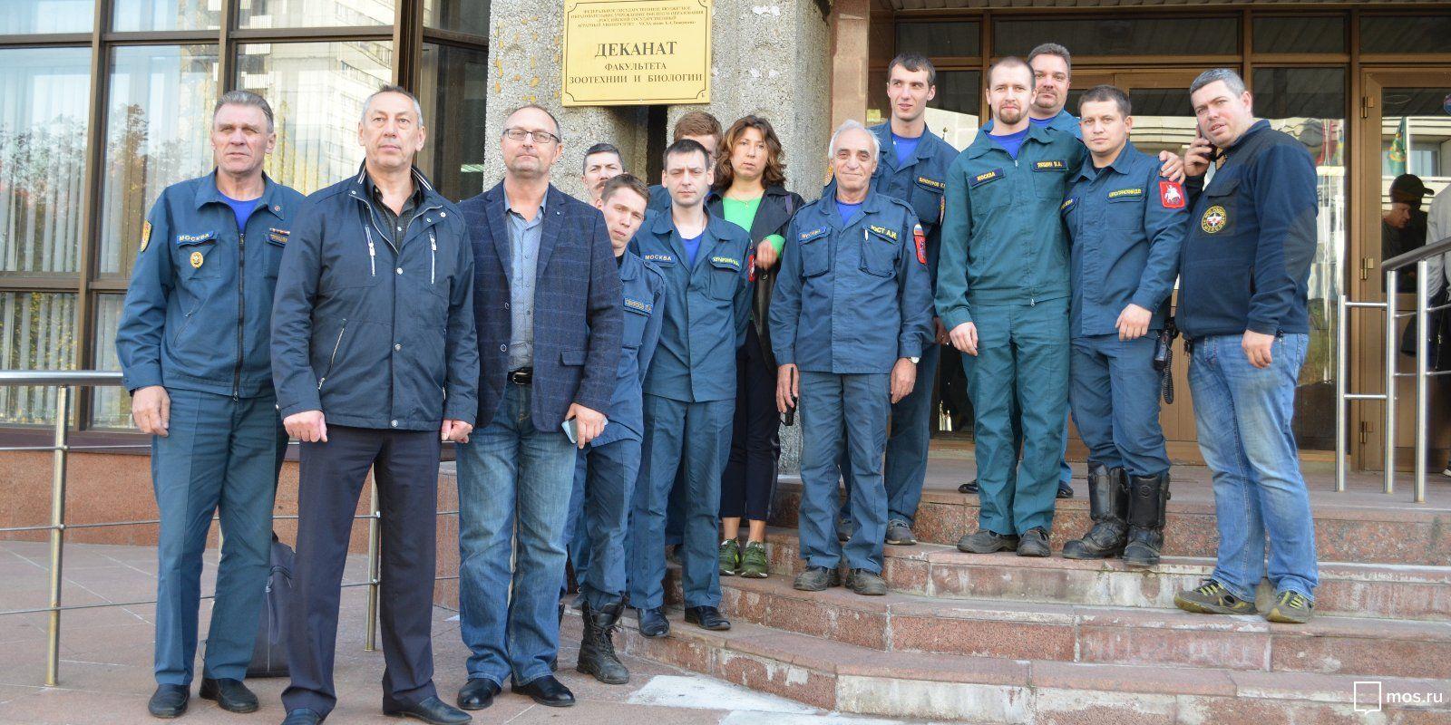 Московским спасателям рассказали о способах защиты от насекомых