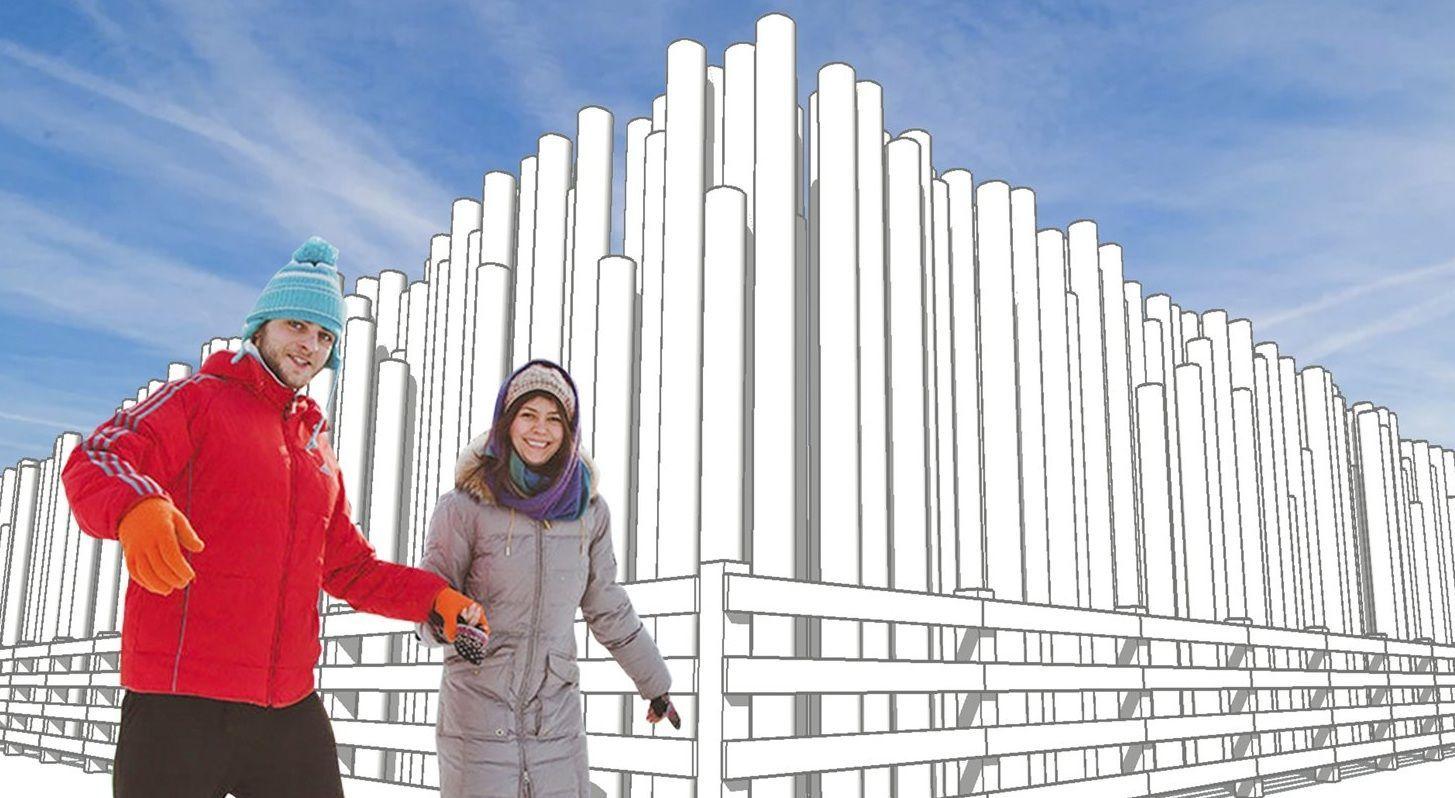 Парк Горького пригласил на открытие катка в индустриальном стиле