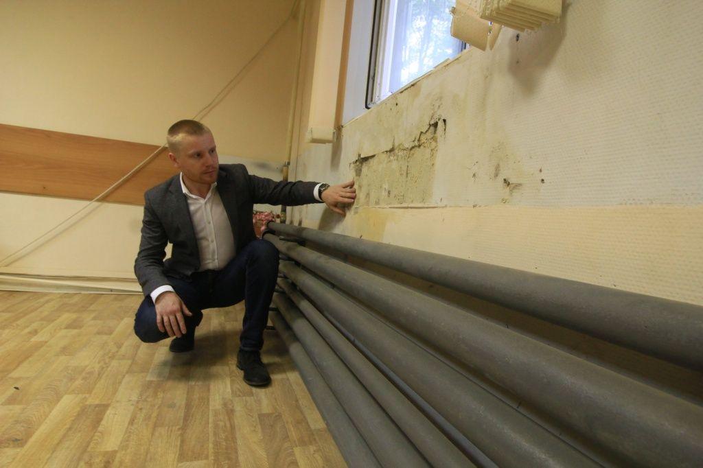Замену водоотводных труб выполнят в жилом доме поселения Кокошкино