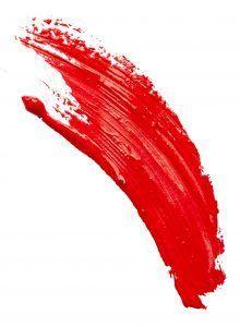 Мазок красного цвета. Фото: SHUTTERSTOCK