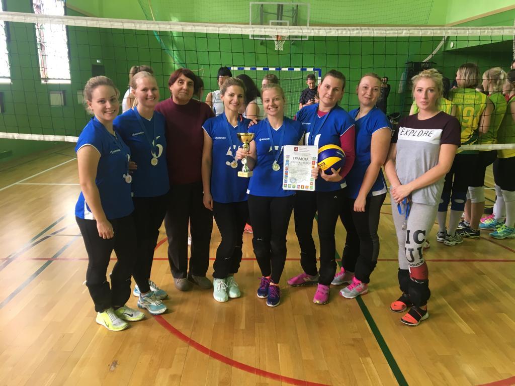 Волейболистки из Вороновского победили на отборочных соревнованиях