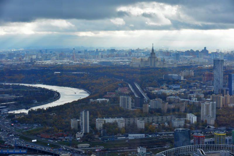 Москвичей ждет повышение атмосферного давления