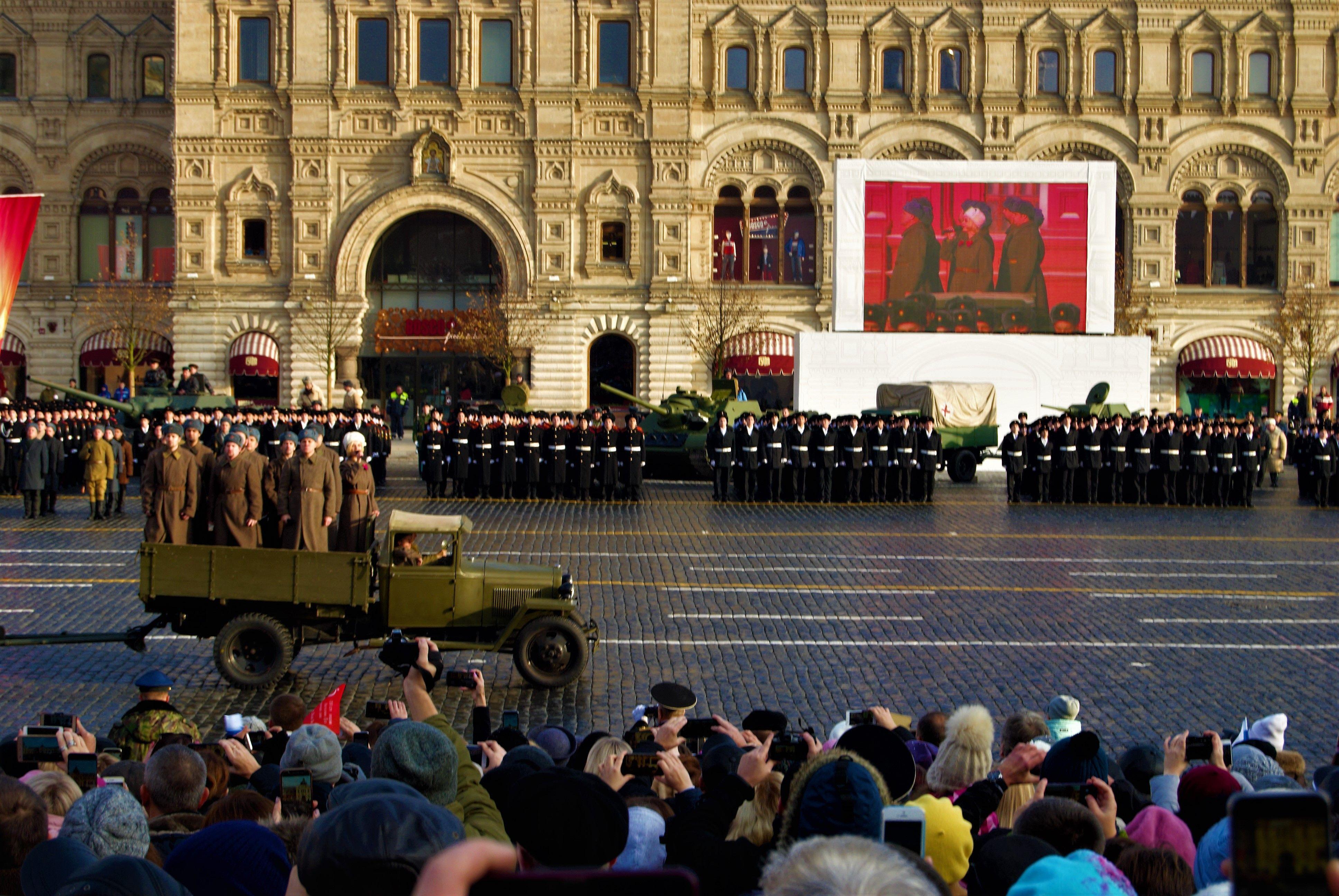 Парад на Красной площади: В Москве отметили 77-ю годовщину одного из ключевых событий Великой Отечественной войны