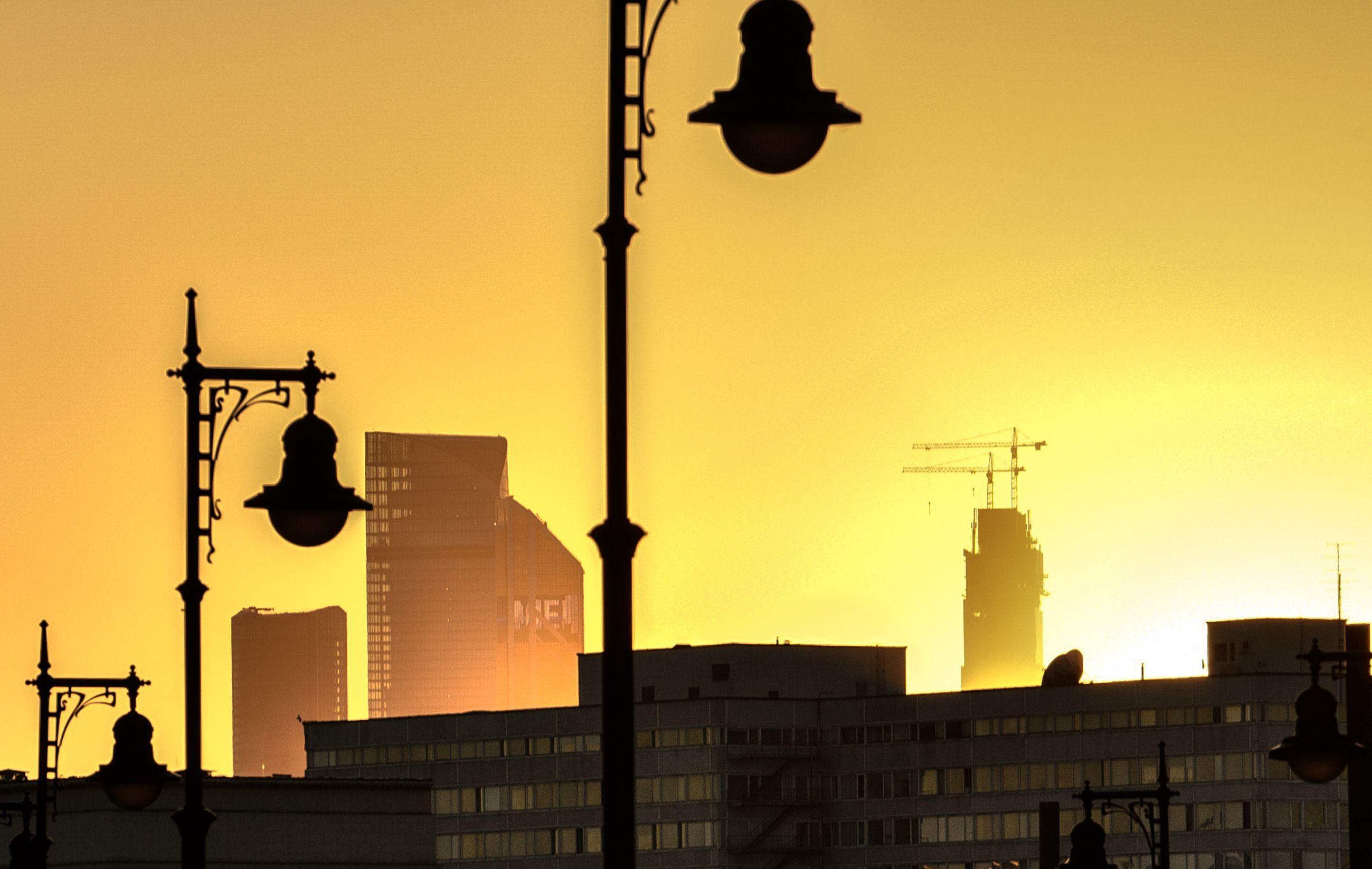 Москва пережила ночь с температурой в минус семь градусов
