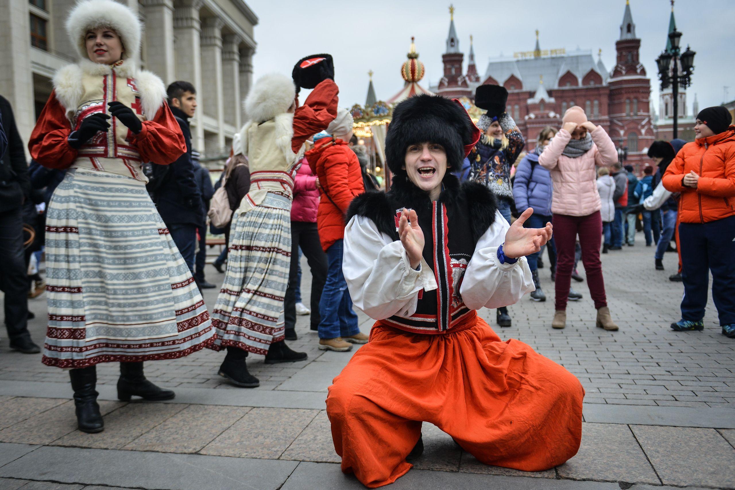 Фестиваль «День народного единства» собрал два миллиона гостей в Москве