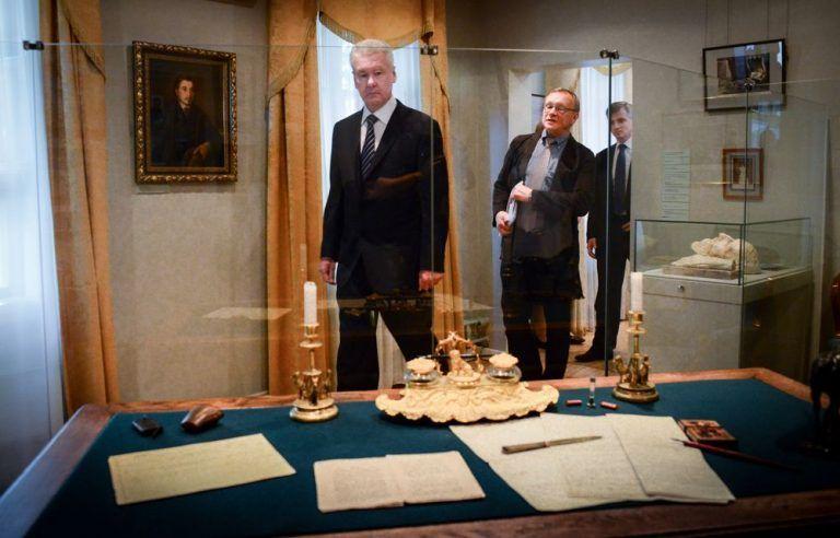 Путин и Собянин открыли отреставрированный дом-музей Тургенева