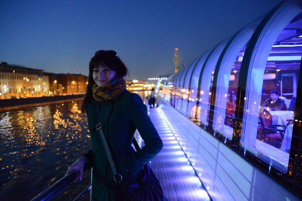 Зимний сезон пассажирских прогулок открылся на Москве-реке