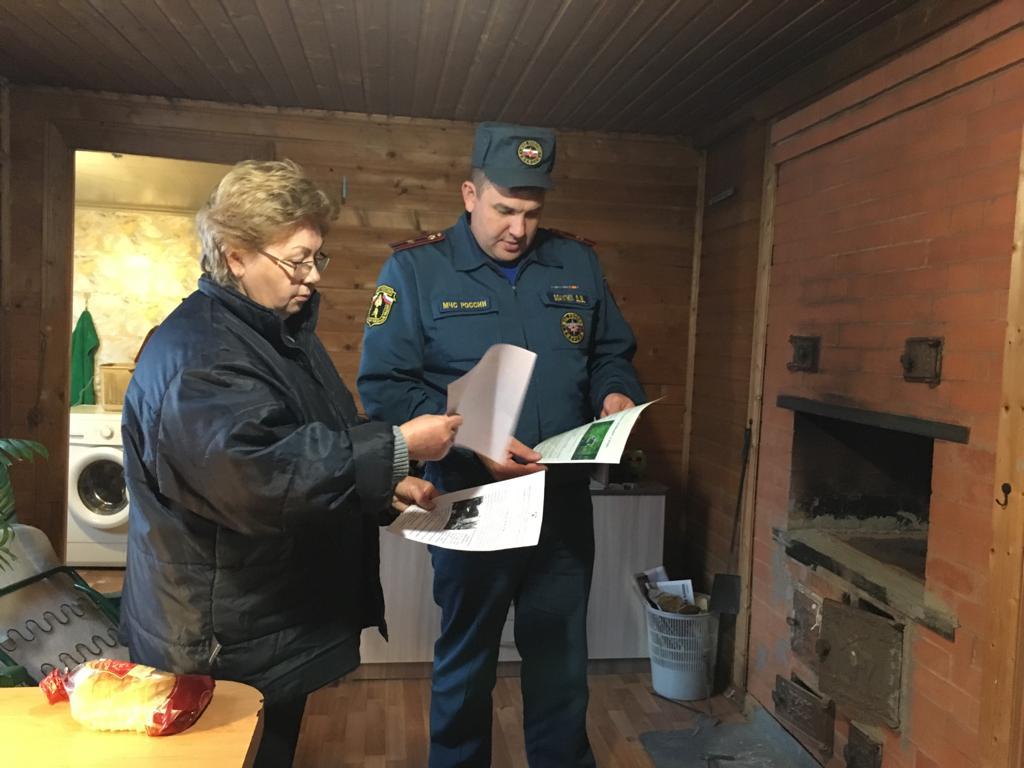В местах проживания семей и пожилых граждан продолжаются профилактические мероприятия
