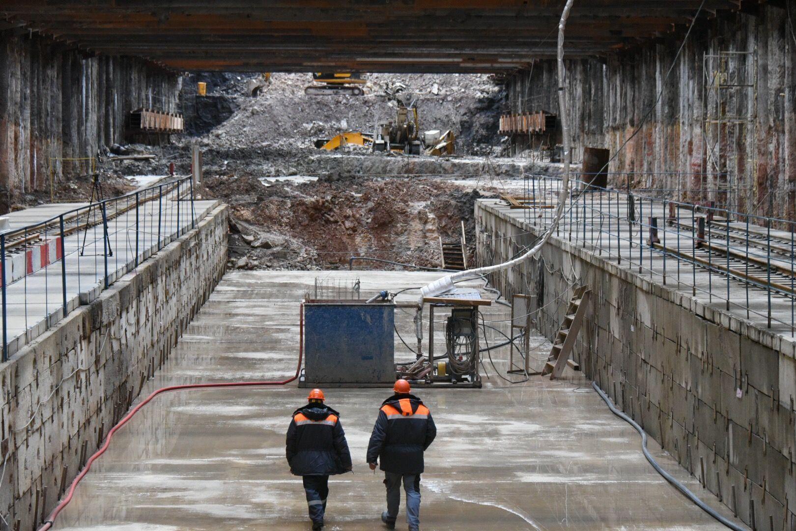 Новый тоннель на Варшавском шоссе откроют в течение ноября