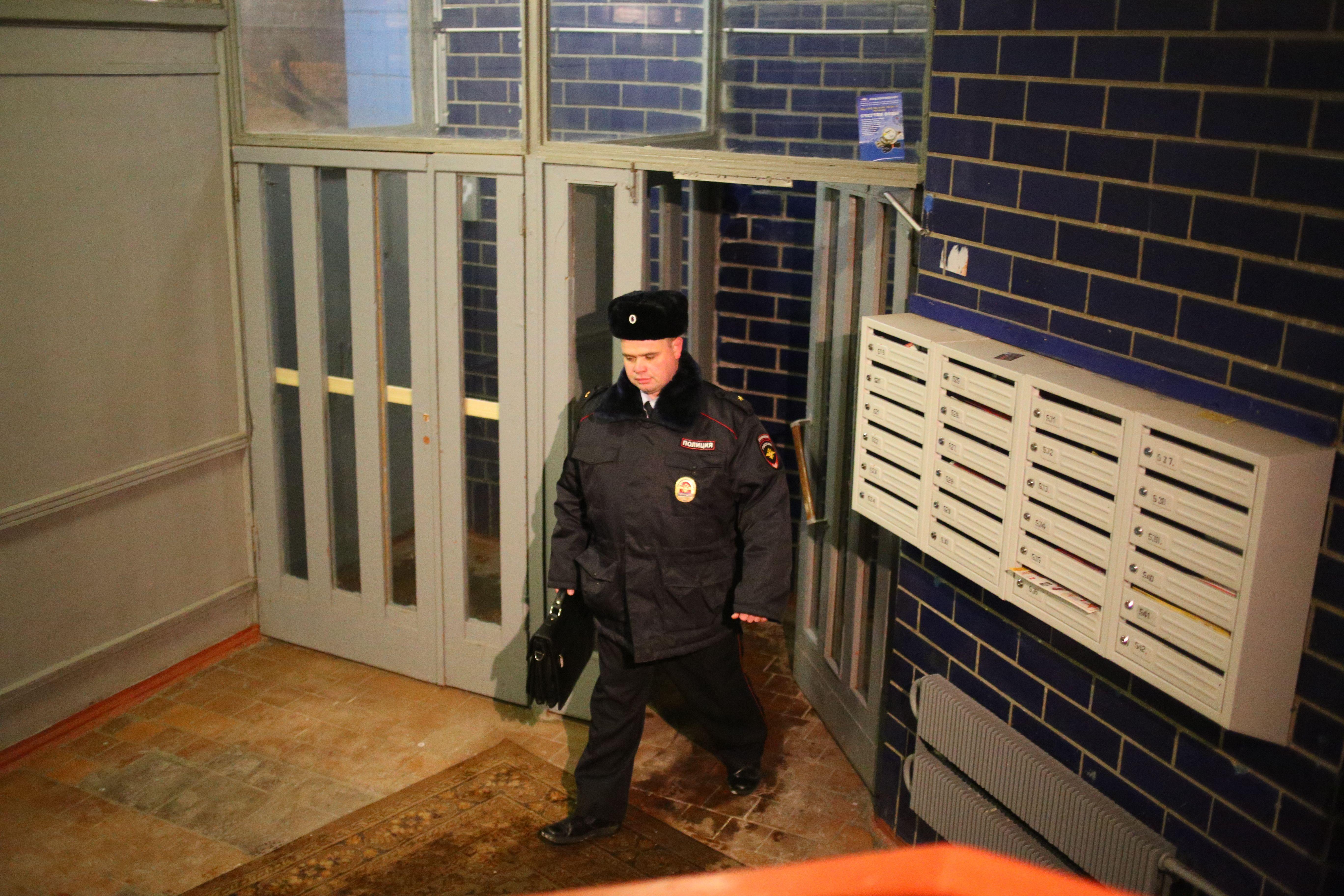 Сотрудником полиции УВД по ТиНАО задержан подозреваемый в уклонении от административного надзора